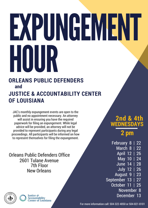 expungement hour 2017